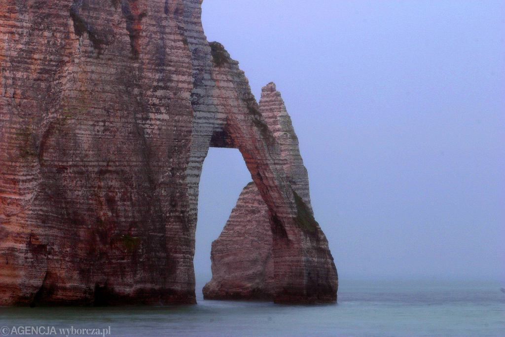 Wybrzeże Normandii (zdj. ilustracyjne)