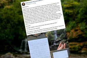 Karina wyniosła kamień z parku narodowego. Odesłała go wraz z przeprosinami