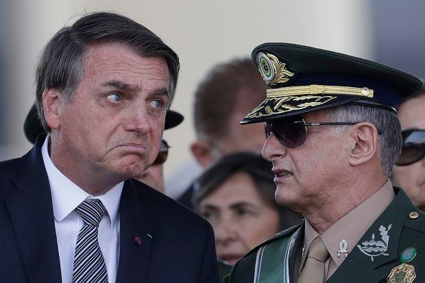 Jair Bolsonaro, prezydent Brazylii.