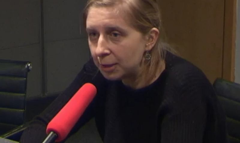Róża Rzeplińska w studiu TOK FM