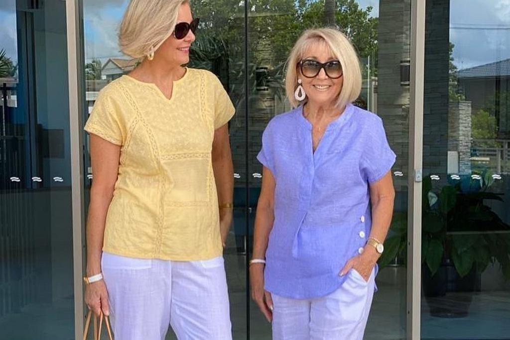 bluzki letnie dla kobiet po 50-tce