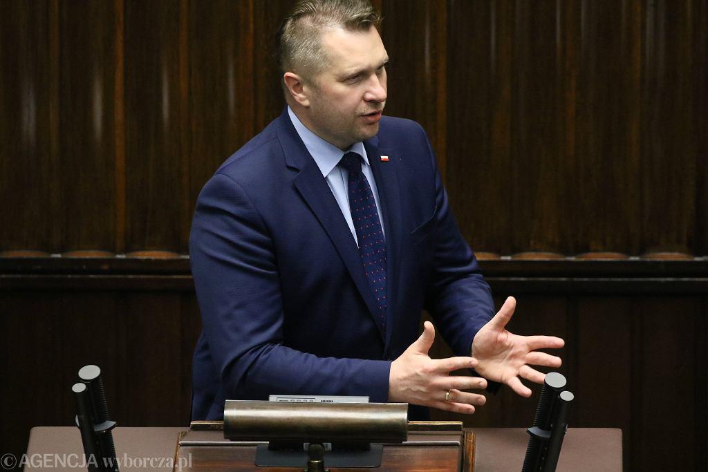 Przemysław Czarnek w Sejmie RP, 2.06.2020 r.