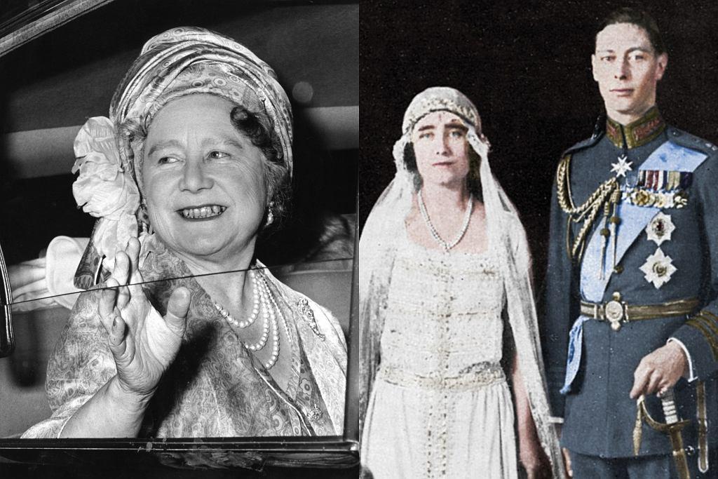 Królowa Matka i król Jerzy VI