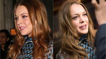 """Lindsay Lohan nie przestaje wzbudzać emocji. Ilekroć wydaje się, że aktorka pokonała swoje demony, to popełnia wpadkę, która stawia pod znakiem zapytania jej powrót do formy. Nie inaczej było też w miniony piątek, gdy gwiazdka pojawiła się na rozdaniu Asian Awards w Londynie. Choć z pozoru wydawać by się mogło, że Lohan prezentowała się na gali całkiem nieźle, to już przy bliższym spojrzeniu okazało się, że naprawdę nie jest dobrze. Gwiazda nie tylko wyglądała na bardzo """"zmęczoną"""", ale w dodatku błyski fleszy sprawiły, że jej sukienka odsłoniła zdecydowanie więcej, niż chcieliśmy zobaczyć."""