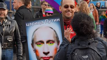 Rozpowszechnianie tego wizerunku Władimira Putina jest w Rosji zabronione. Również w internecie