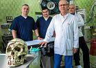 Nowa twarz 38-letniego Michała. Przez pięć godzin lekarze scalali kości czaszki. Pomogła im drukarka 3D
