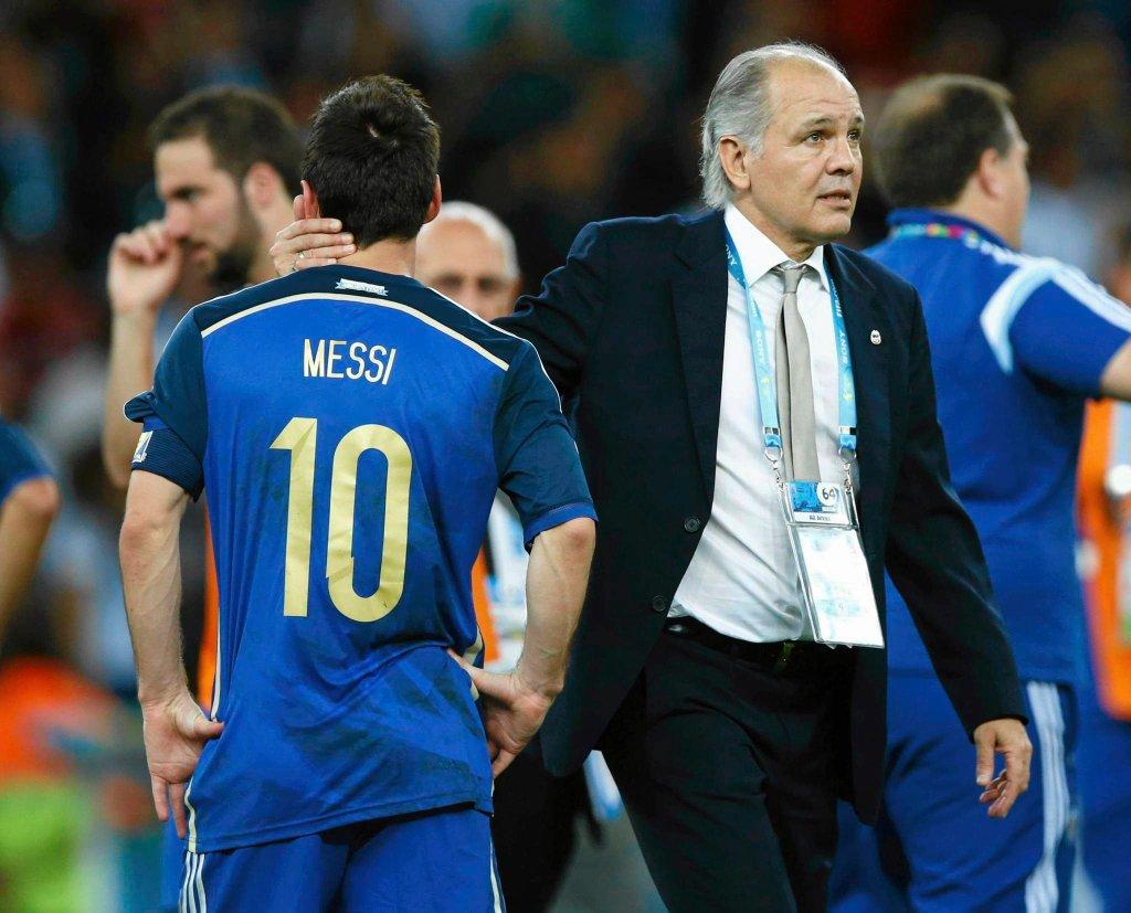Leo Messi i Alejandro Sabella
