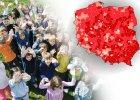 Polska dzielona na 500 plus