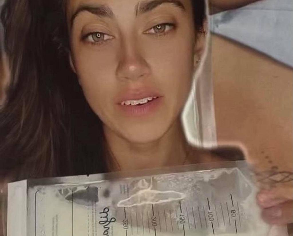 Maja Hyży reklamuje kontrowersyjną biżuterię z własnego mleka i kosmyków włosów dzieci. 'Bardzo osobiste'