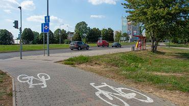 Rowerzyści dostaną 800 metrów ścieżki wzdłuż alei Jana Pawła II