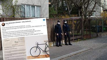 Żoliborski radny zaalarmował, że w dzielnicy jest coraz więcej kradzieży rowerów