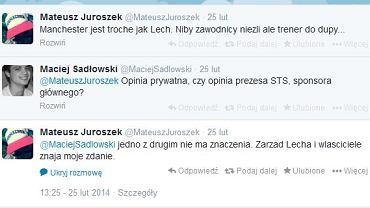 Mateusz Juroszek na Twitterze