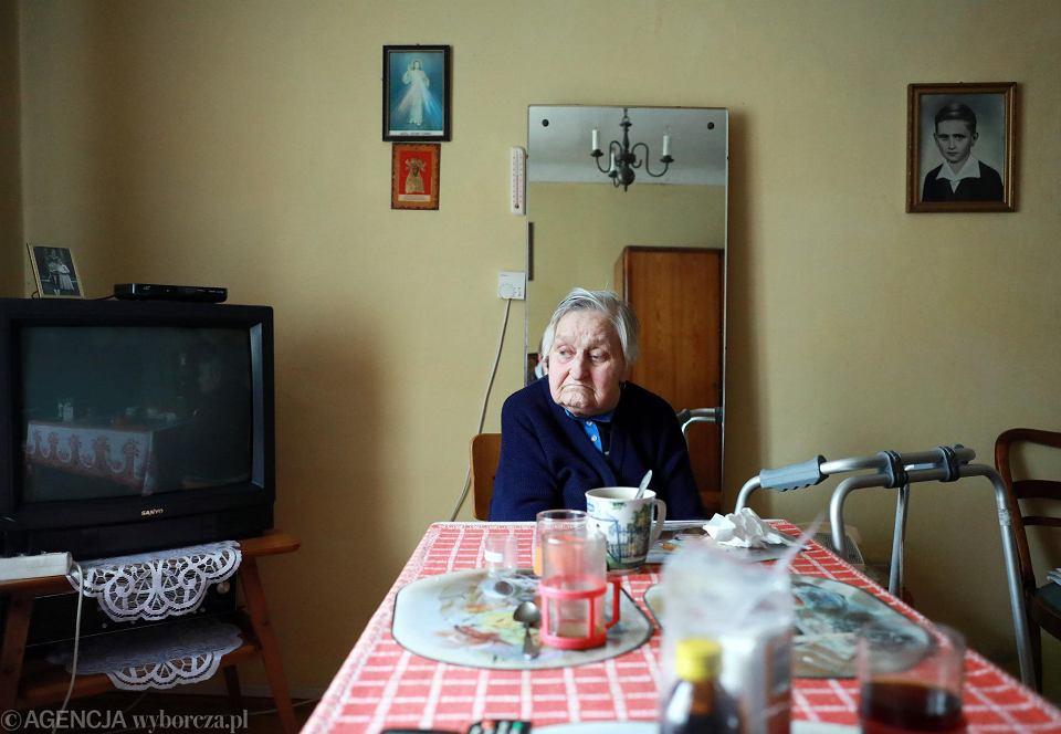 91-letnia Maria Markowska ma natychmiast opuścić dom pod Warszawą, w którym mieszkała od urodzenia, choć nie dostała odszkodowania