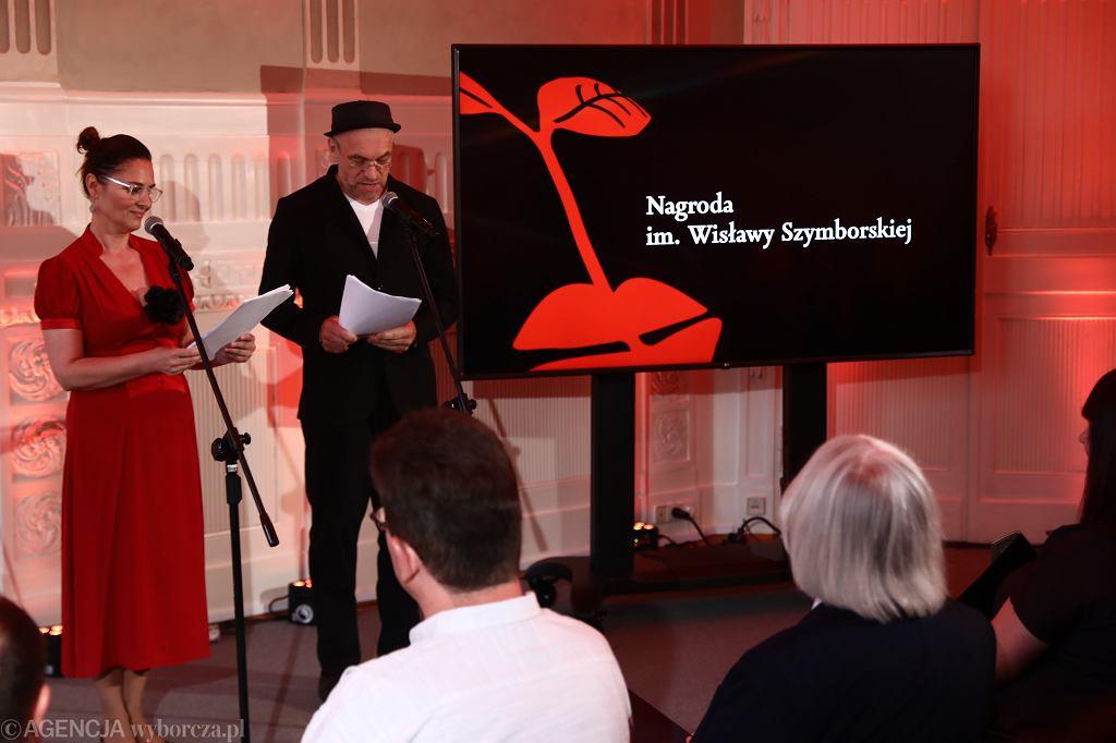 ,Gala nagrody Wislawy Szymborskiej w Krakowie