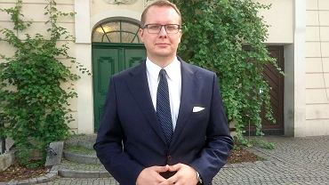 Krystian Kamiński, poseł Konfederacji, lider lubuskiego Ruchu Narodowego