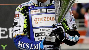 Speedway Grand Prix w Toruniu w 2015 r. Na zdjęciu: Jason Doyle