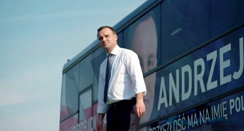 Andrzej Duda w finałowym spocie kampanii