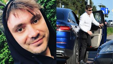 Daniel Martyniuk przyjechał pod sąd nowym autem. Luksusowy samochód jest wart pół miliona złotych