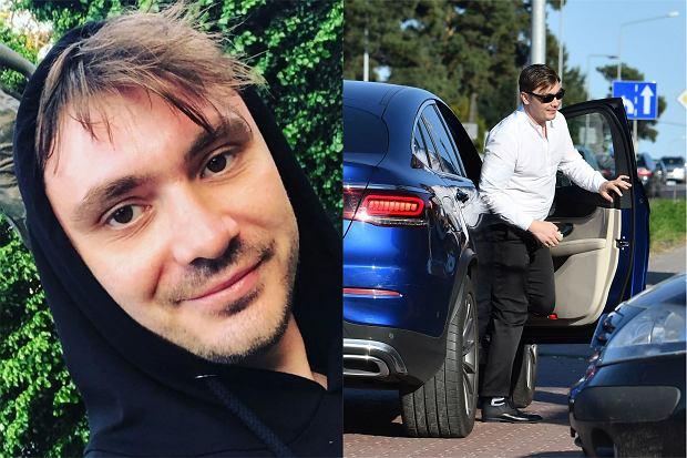 Daniel Martyniuk przyjechał nowym autem na rozprawę rozwodową w białostockim sądzie. Luksusowy Mercedes jest wart prawie pół miliona złotych.