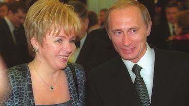 Ludmiła i Władimir Putinowie, Moskwa 2000 r.