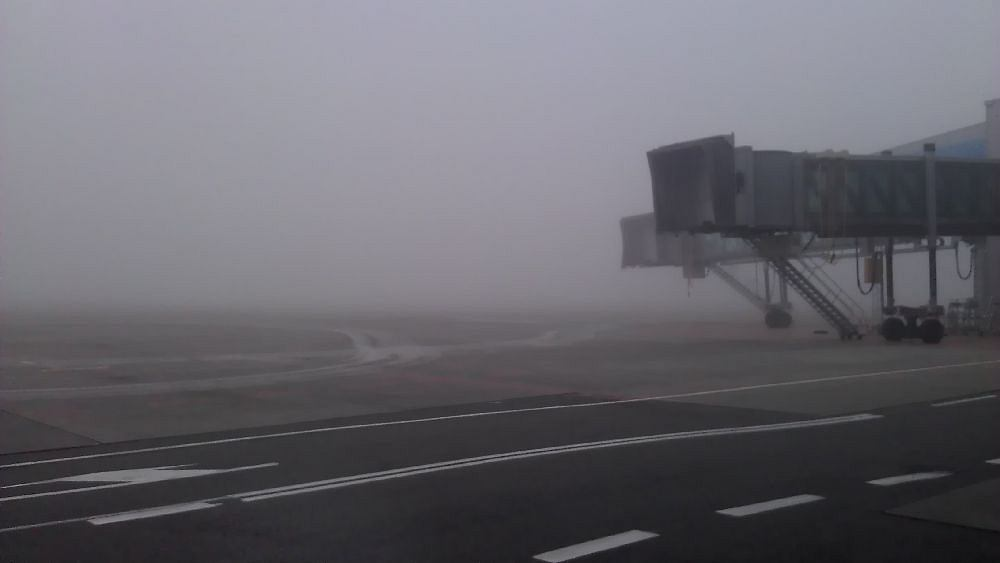 Mgła na Lotnisku Chopina