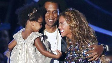 Beyonce, Jay-Z i ich córka Blue Ivy