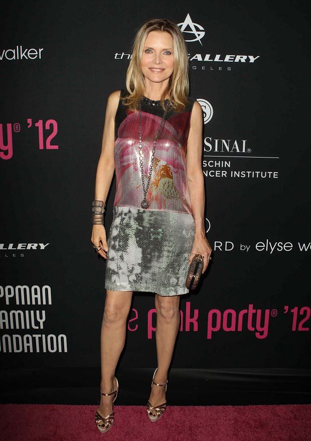 27 October 2012 - Santa Monica, California - Michelle Pfeiffer. 8th Annual Pink Party Held At Hangar 8.        CAP/ADM/KB  ?Kevan Brooks/AdMedia/Capital Pictures