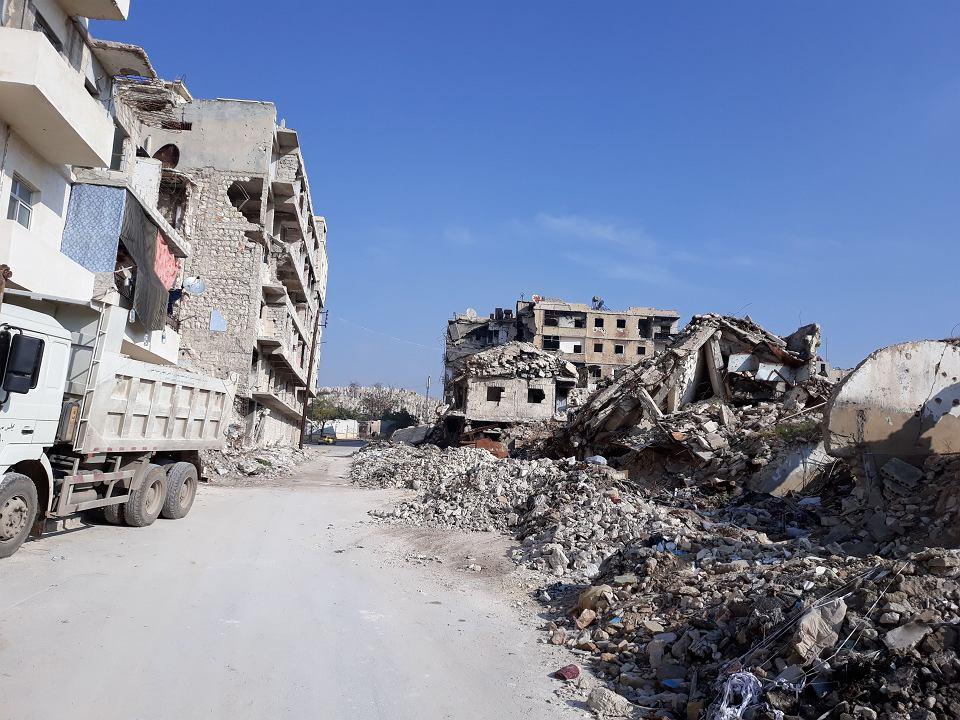 Ruiny Aleppo/ archiwum Stowarzyszenia 'Dom Wschodni - Domus Orientalis'
