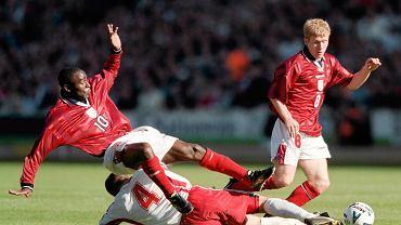 Krzysztof Ratajczyk w meczu z Anglią