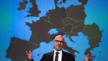 Pierre Moscovici, komisarz do spraw gospodarczych i finansowych, podatków i ceł/Fot. Francisco Seco / AP Photo