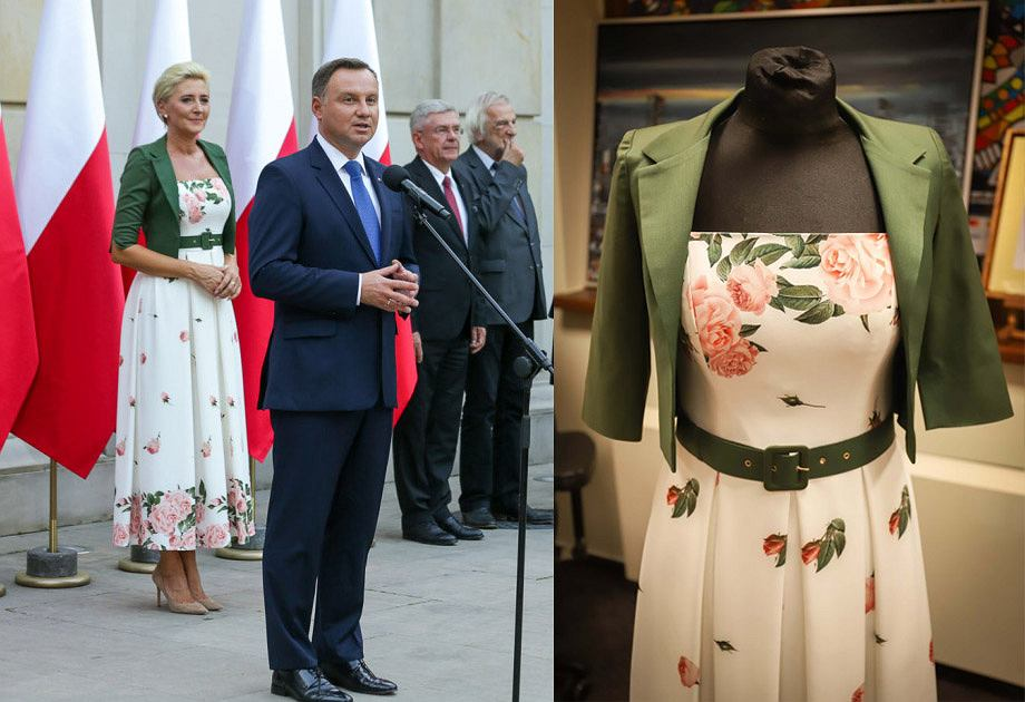7114ceec95 Agata i Andrzej Duda przekazali na WOŚP swoje ubrania