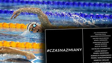 Oświadczenie polskich pływaków i pływaczek