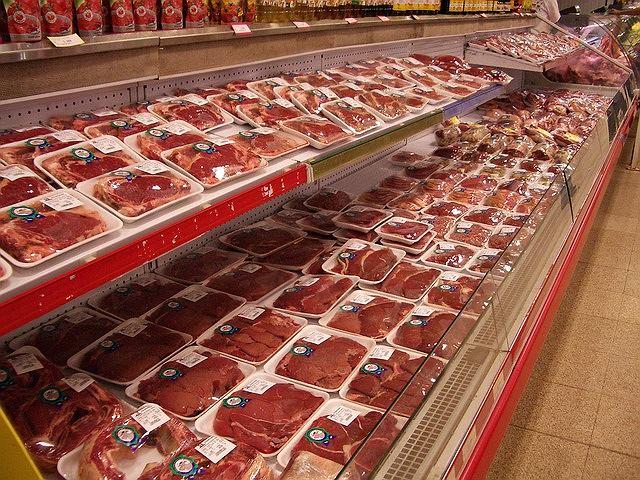 paczkowane mięso