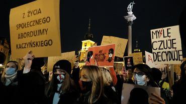 Protesty po orzeczeniu TK dot. aborcji