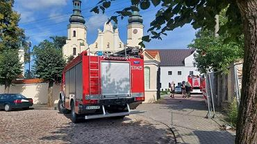Warta. Pożar konfesjonału w klasztorze