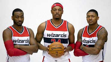 John Wall, Paul Pierce i Bradley Beal