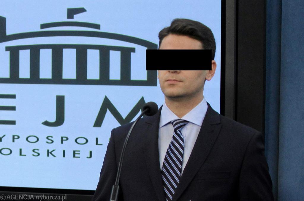 Były poseł PIS Mariusz Antoni K.