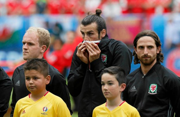 Euro 2016. Anglia - Walia. Bale: Żaden Anglik nie załapałby się do składu Walii