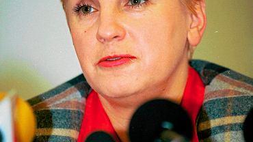 Barbara Blida zginęła w kwietniu 2007 r. Na zdjęciu: 9 lutego 1995 r.
