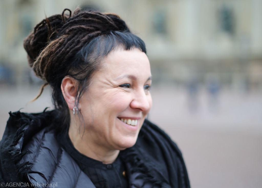 Olga Tokarczuk. Sztokholm, 6 grudnia 2019
