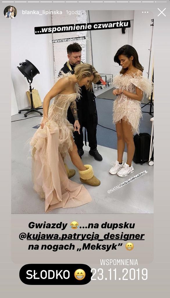 Blanka Lipińska i Natalia Siwiec