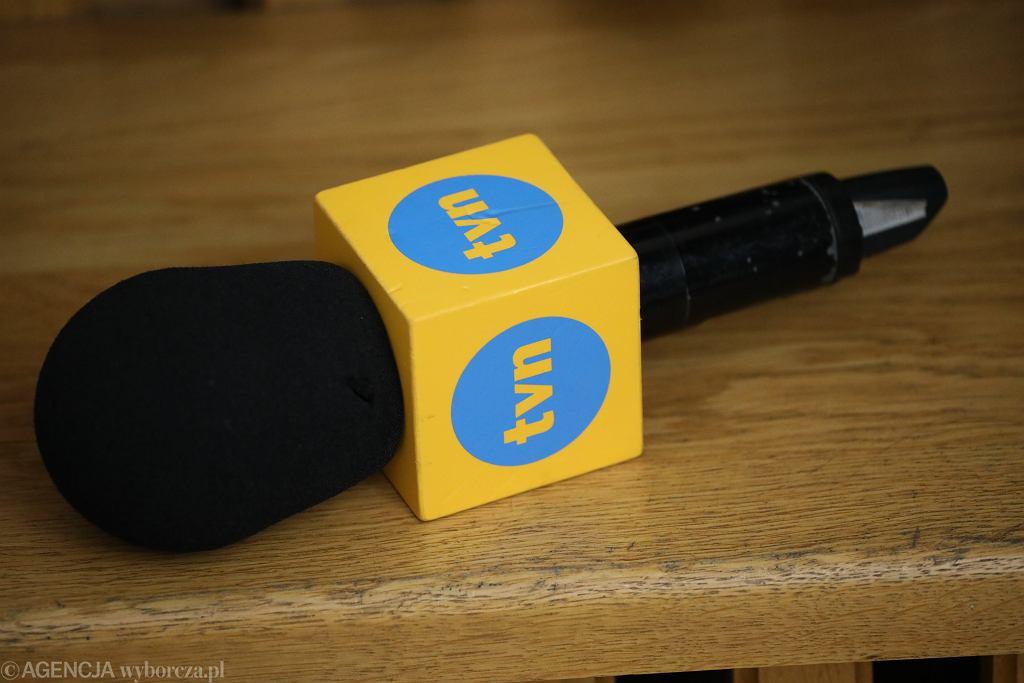 TVN (mikrofon - zdjęcie ilustracyjne)