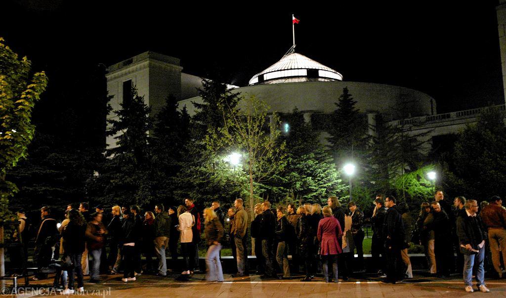 Sejm. Noc Muzeów. 15.05.2010 r.