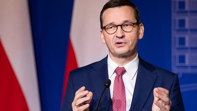 """Morawiecki: UE odreagowuje na Polsce. """"Mechanizm potencjalnie niszczycielski"""""""