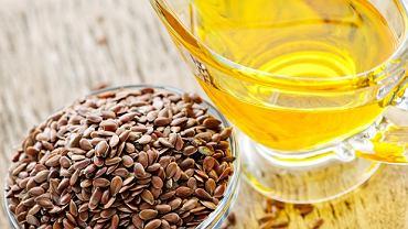 Siemię lniane i olej lniany to doskonałe źródła kwasu linolenowego