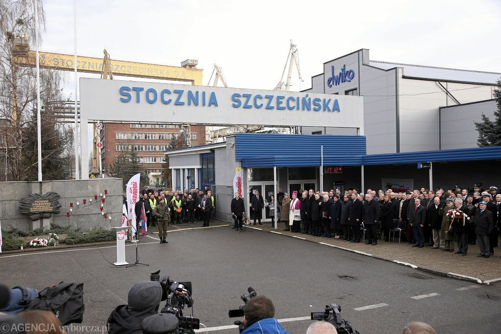 Szczecin. Obchody 49. rocznicy Grudnia '70