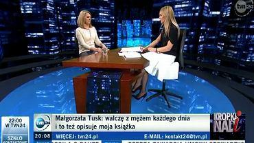 Małgorzata Tusk u Moniki Olejnik