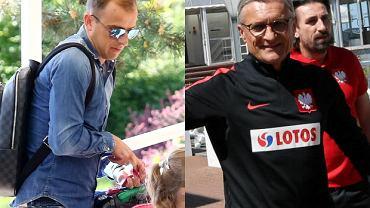 Pilkarze reprezentacji polski w Juracie