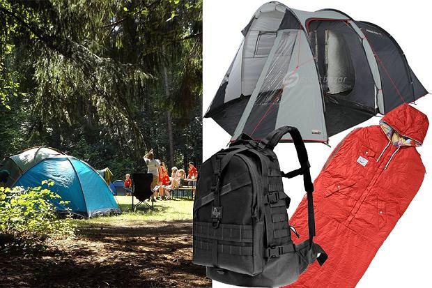 Namioty, śpiwory i wiele innych