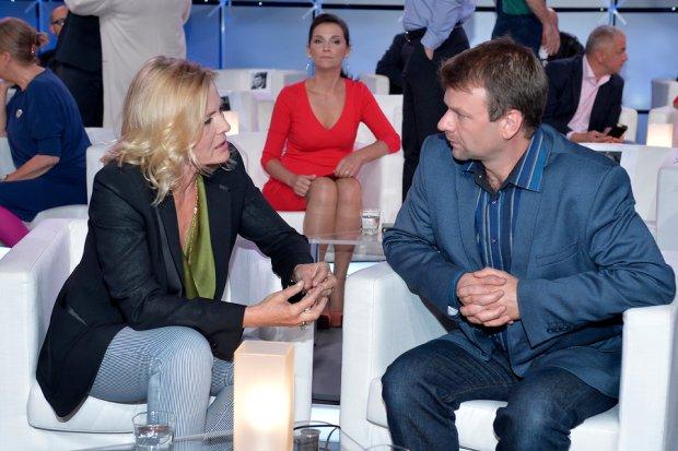 Steve Terret i Grażyna Szapałowska